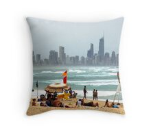 Summer on the Sand Throw Pillow