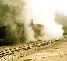 Early Morning Steam (3) by Ian Ker