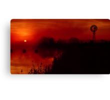 """Barwon Sunrise"" Canvas Print"