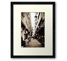 Equitable Place Framed Print