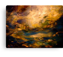 Vortex..The Sea of Time & Space  Canvas Print