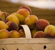 South Carolina Peaches by depictionsbyJB