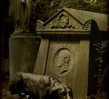 The tomb of Tom Sayers by Catherine Hadler
