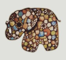 Patchwork Elephant by Karin  Taylor