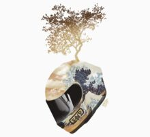 CNG'S HAIKU CREATING HELMET by roxburgh