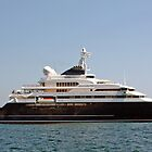 Bill Gates Yacht by longaray2