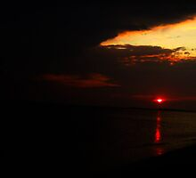 Sandy Hook Sunset by butterflyashes