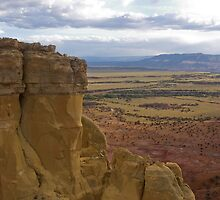 Chimney Rock at Ghost Ranch by Mitchell Tillison