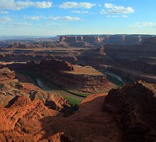 Dead Horse Point at Eventide by TheBlindHog