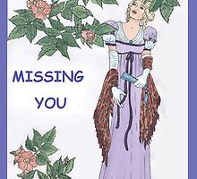 Missing Regency Rose by redqueenself