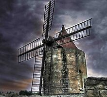 Moulin de Daudet by Beth A