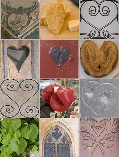 Hearts from France by Sheila Laurens