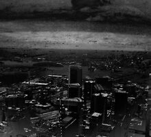 """A Triptych Of Sand Storms And City Scapes Part Three"" by Kirrill D'Kainn"