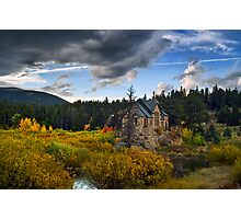 A Heavenly Autumn Photographic Print