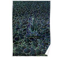 Buddha and Pebbles - Scotland - 3 Poster
