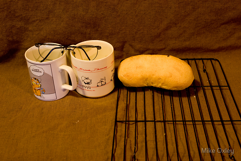 Specs + Mugs + Rack + Roll by Mike Oxley