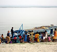 Tourism on the Brahmaputra River, Assam, India by John Mitchell