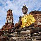 Ayutthaya Sitting Buddha by Nicholas Richardson