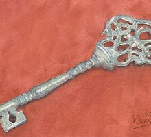 Ornate Mansion Key by Ken Powers