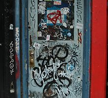 East Village's door by Diego Marando