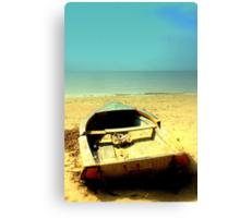 My boat of dreams Canvas Print