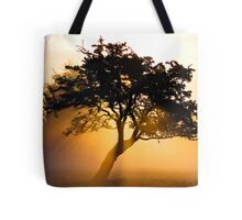 Burning Tree Tote Bag