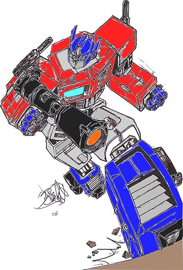 Optimus Prime by marky1034