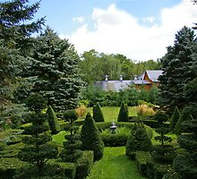 A Rural Formal Garden by Tom  Reynen