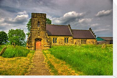 St Mary Church - Marton in the Forest by Trevor Kersley