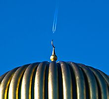 Mosque and Jet by maxblack