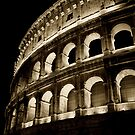 Colosseum at night by sumners