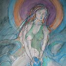 Moon Goddess by Anthea  Slade