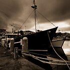 Constitution Dock, Hobart by Ben Rae