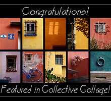"""Collective Collage Group""  Feature Banner by Barbara  Corvino"