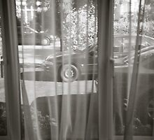 Wheels Through Curtain by DonDavisUK