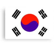 South Korea, national id Canvas Print