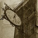 clock of St Louis en l'Ile Church #3 by ragman