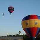 Star spangled balloons! xlta event by Linda Jackson