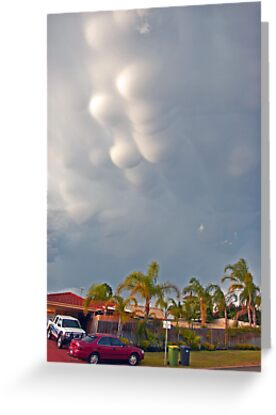 Mammatus clouds  by EOS20