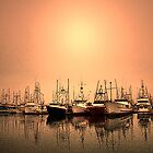 Fishing Fleet by KOKOPEDAL