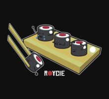 Sushi Shirt by Ryan Yasutake