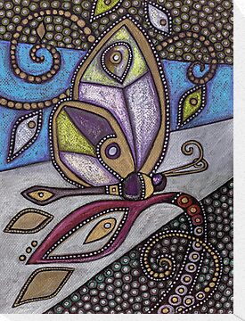 Butterfly I by Lynnette Shelley