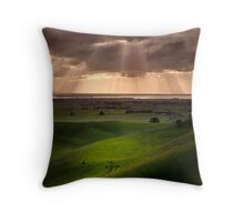 The Lightshow - Red Rock Colac Throw Pillow