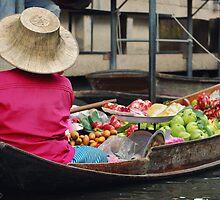 Fruit Seller by Nicholas Richardson