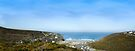 Porthtowan Panoramic View: Cornwall UK by DonDavisUK