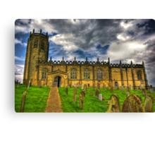St Michael's Church - Coxwold,North Yorkshire Canvas Print