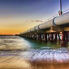 The pipeline at Kurnell by Kounelli