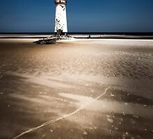 Talacre, Point of Ayr Lighthouse. by maxblack