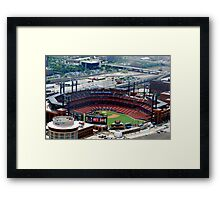 The new St. Louis Cardinals Stadium Framed Print