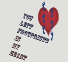 Footprints in my heart by Christian  Zammit
